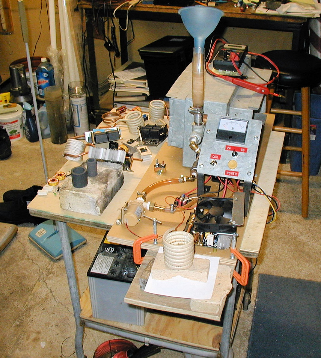 1000 Watt Zvs Induction Heater Notes Circuit Diagram Wiring Larger Picture Of My 4th Setup