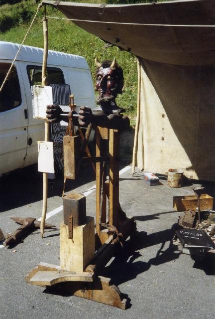 how to make a homemade power hammer