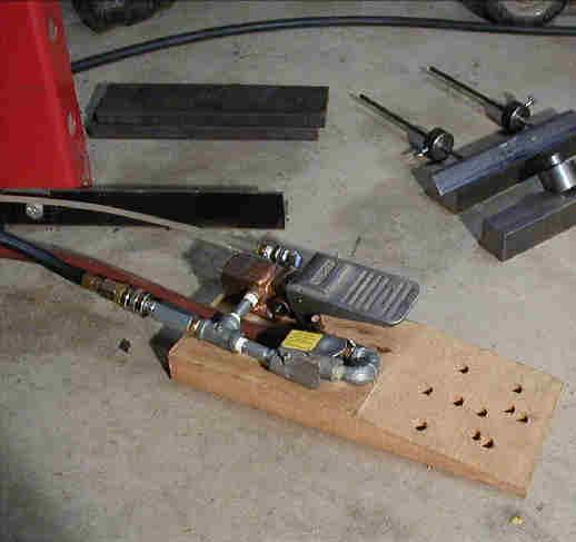 20 Ton Air Over Hydraulic Press