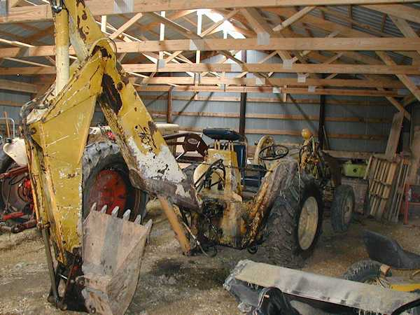 Ford 4000 Backhoe : My ugly tractor page