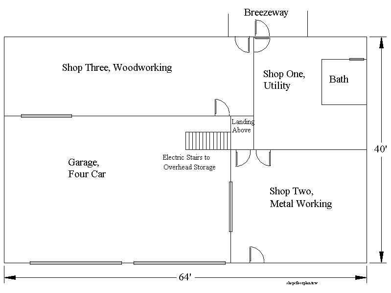 Auto Repair Garage Floor Plans: Best Layout Room